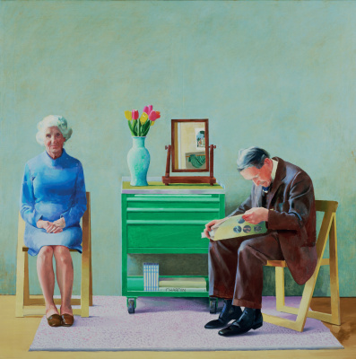 David Hockney. My parents