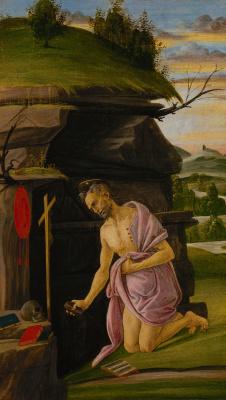 Sandro Botticelli. Saint Jerome