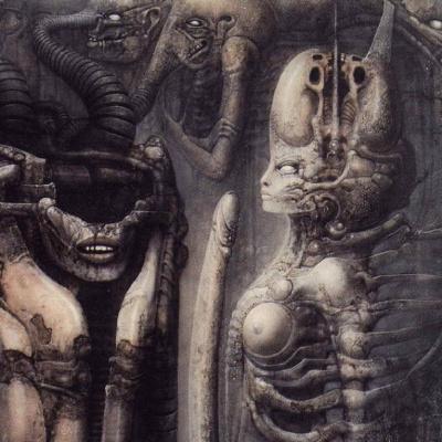 Hans Rudolph Giger. Biomechanoid (Fragment)