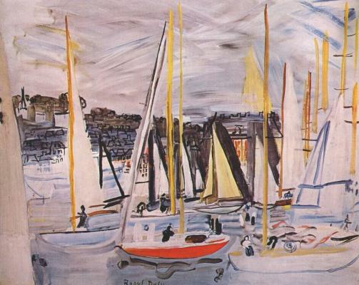 Raoul Dufy. Harbour