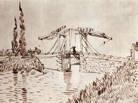 Vincent van Gogh. Arles bridge