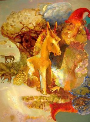 Evgeny Anatoleviz Babushkin. Horse-Gorbunok