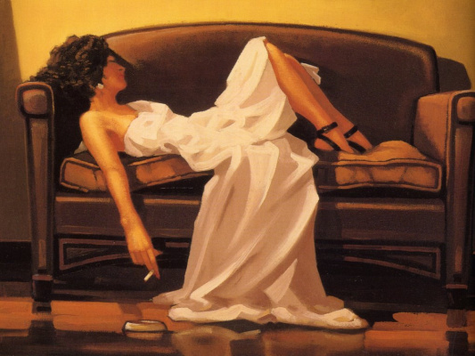 Jack Vettriano. At the end of the thrill