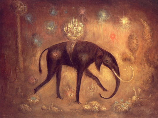 Leonora Carrington. The expedition of Dr. Ramsbottom