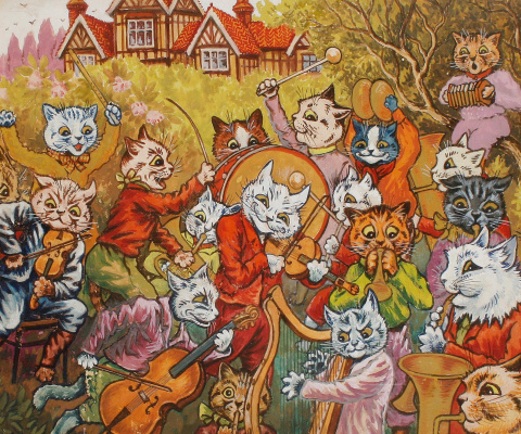 Louis Wain. We play on!