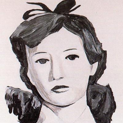 Люк Туйманс. Портрет женщины