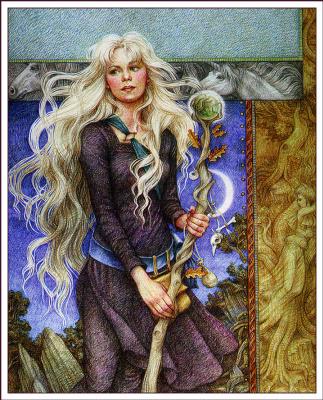 Ивонн Гилберт. Волшебница из рощи