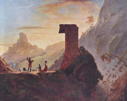 Сэмюэль Финли Бриз Морзе. Капелла Девы Марии близ Субъяко