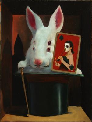 Alexander Giza-Ciobanu. Rabbit Schrodinger