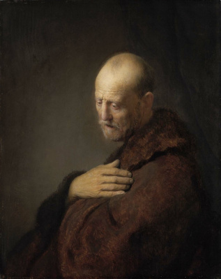 Рембрандт Харменс ван Рейн. Старик в молитве
