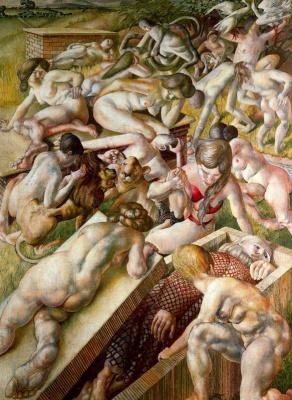 Stanley Spencer. Naked