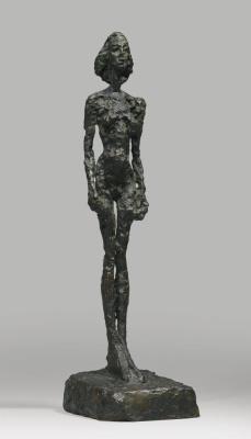 Альберто Джакометти. Обнаженная женщина