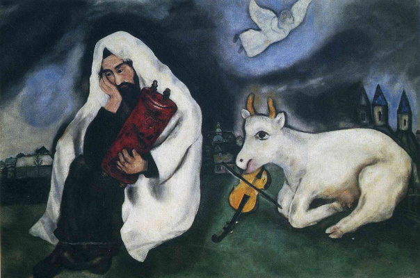 Marc Chagall. Loneliness