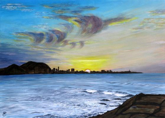 Dmitry Eremenko. Sunrise over san juan