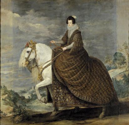 Диего Веласкес. Конный портрет Изабеллы Бурбонской