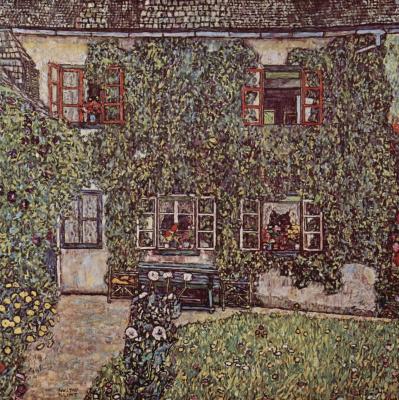 Gustav Klimt. A Forester's house in Weissenbach II