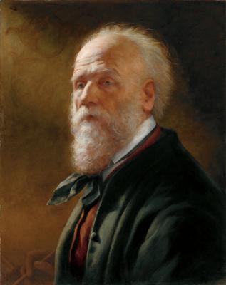 Фридрих Амерлинг фон. Автопортрет. 1880-1881