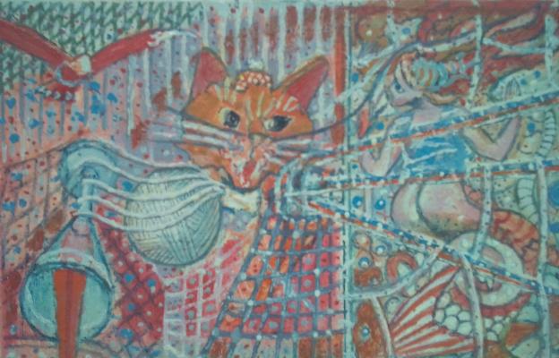 Вячеслав Коренев. Cat in the Attic