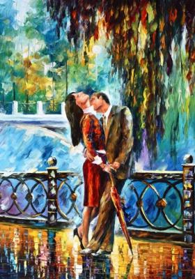 Leonid Afremov. Kiss