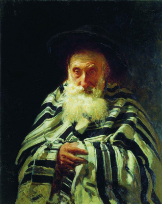 Ilya Efimovich Repin. A Jew at prayer
