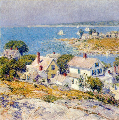 Childe Hassam. New England Headlands