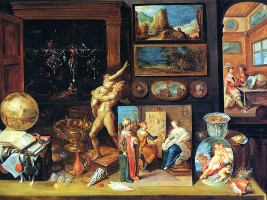 Frans Franken the Younger. The collector's room. 1625