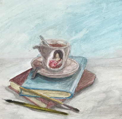 Victoria Shendryk. A favorite cup