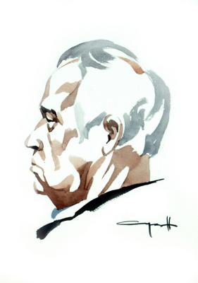 Николай Николаевич Седнин. Портрет А. В. Бутурова