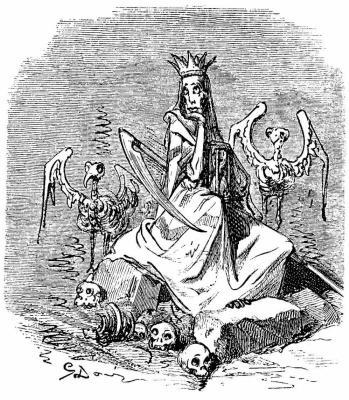"Paul Gustave Dore. Illustration for Santin's ""Rhine Mythology"""