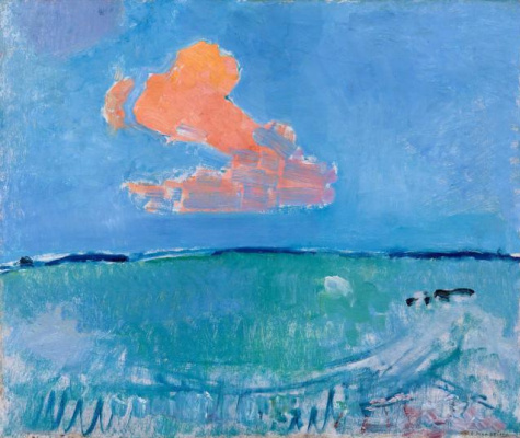 Piet Mondrian. Red cloud