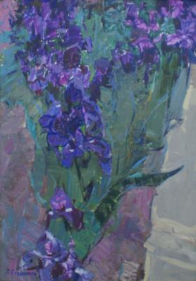 Petr Kuzmich Stolyarenko. Irises