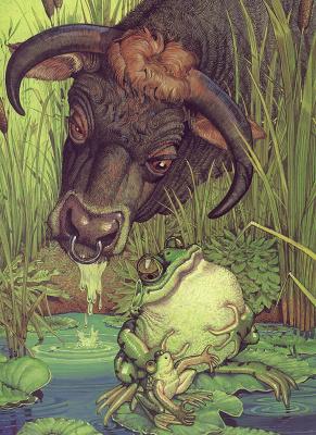 Дон Дэйли. Басни Эзопа. Бык и лягушка-бык