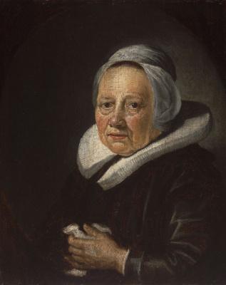 Gerrit (Gerard) Dow. Portrait of the artist's mother