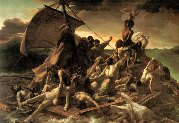 Théodore Géricault. The Raft Of The Medusa