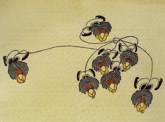 "Constantin Somov. Decorative motif. The magazine ""World of art"""