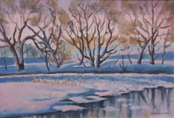 Ivan Vasilyevich Kovacs. Winter Dawn