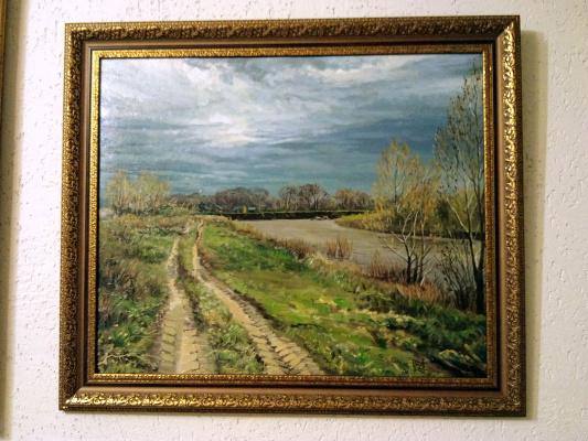 """Ildar yakupov. """"Hunting base(biliaivka)of the Ural river"""""""