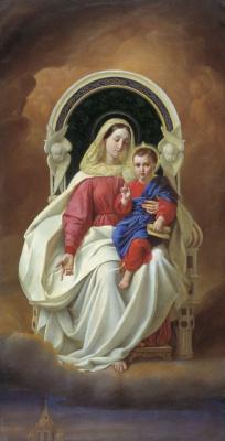 Alexey Tarasovich Markov. The Virgin and Child