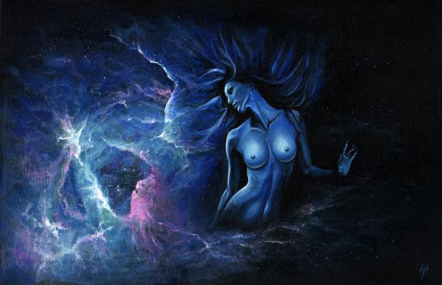 Tatyana Nikolaev. Painting Kali