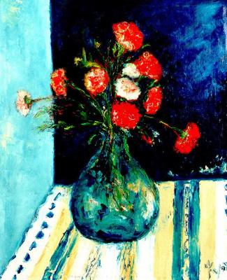 Мари Ромеро Кампо. Букет цветов 7