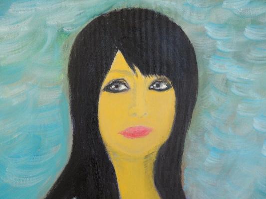 Asya Alibala gizi Hajizadeh. Portrait