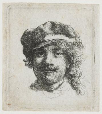 Рембрандт Харменс ван Рейн. Автопортрет в шляпе