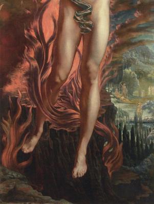 Jean Delville. Orpheus. Fragment II