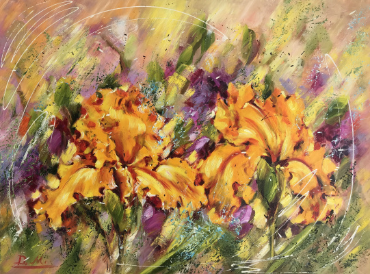 Диана Владимировна Маливани. Yellow Iris