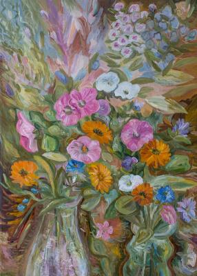 """Agnessa Morkovina. """"Two bouquets"""""""