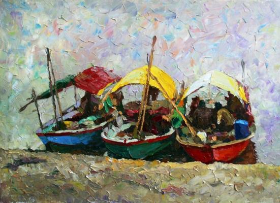 Michael Mine. Goa. Boats