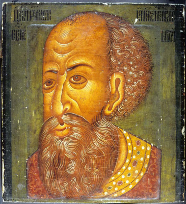 Masterpieces of unknown artists. Parsuna Ivan the Terrible