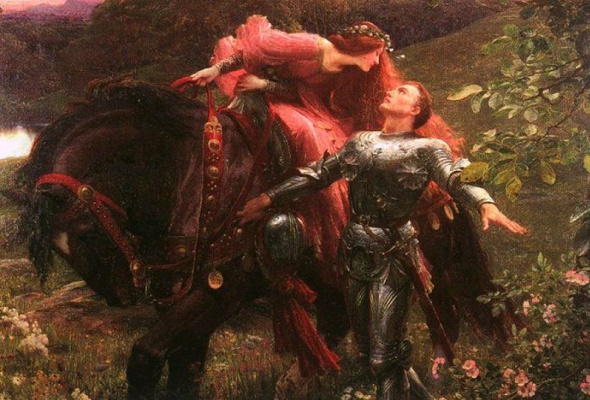 Thomas Francis Dixie. The knight and the lady