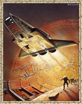 Боб Лаузелл. Космический корабль 16