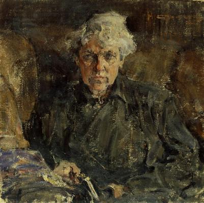 Nikolay Feshin. Portrait Of E. M. Kokorinoj